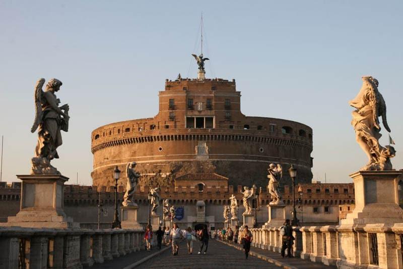 Castelo Sant' Angelo en Roma