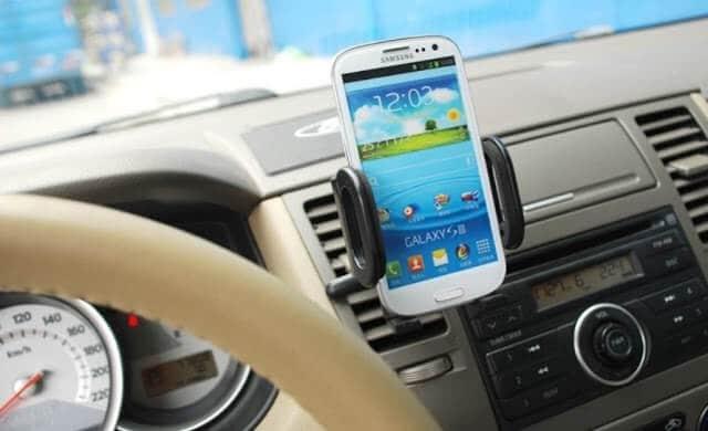 Usando el celular como GPS