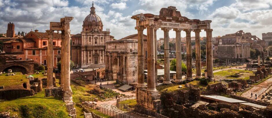 Foro Romano en Roma Italia