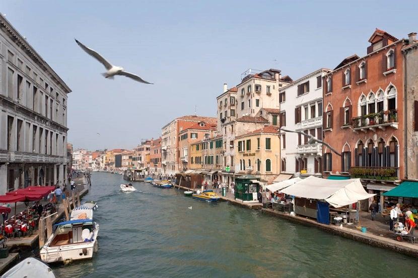 Región de Cannaregio en Venecia