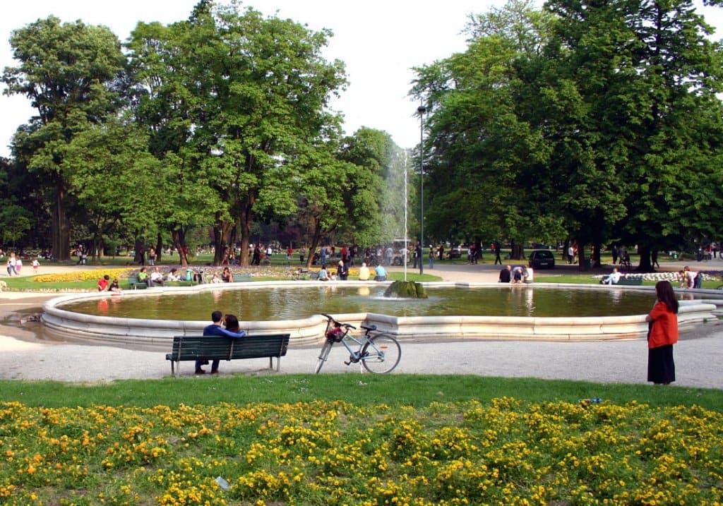 Parque Giardini Pubblici di Porta Venezia en Milán