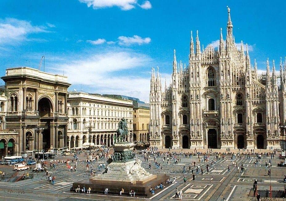 Centro histórico de Milán