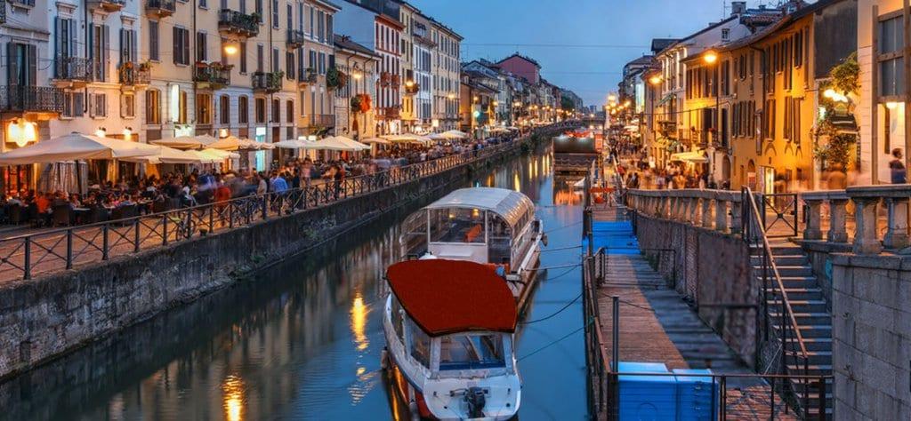 Navigli en Milán