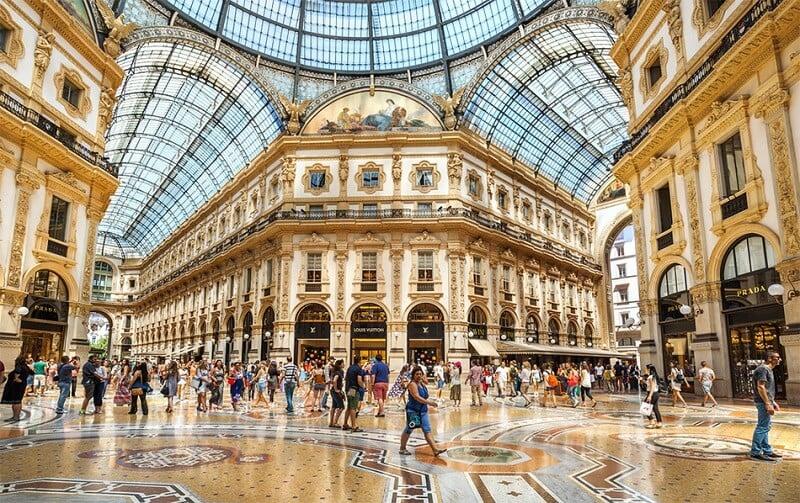 Galería Vittorio Emanuele II de Milán