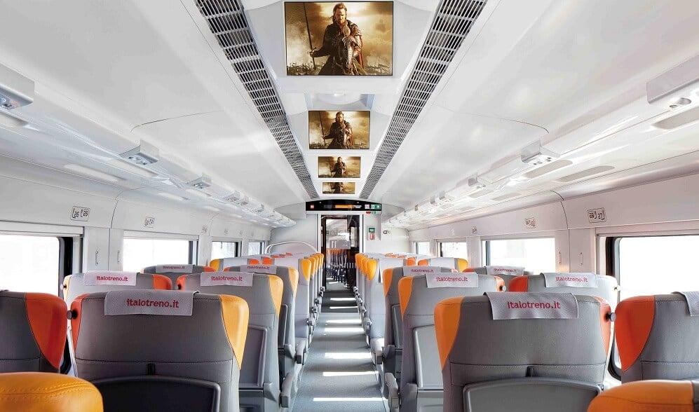 Viajes en tren en Italia