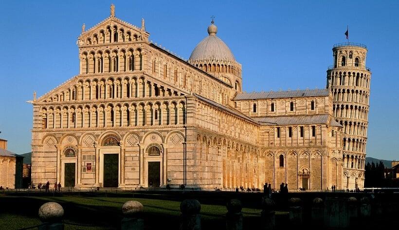 Plaza de la Catedral de Pisa
