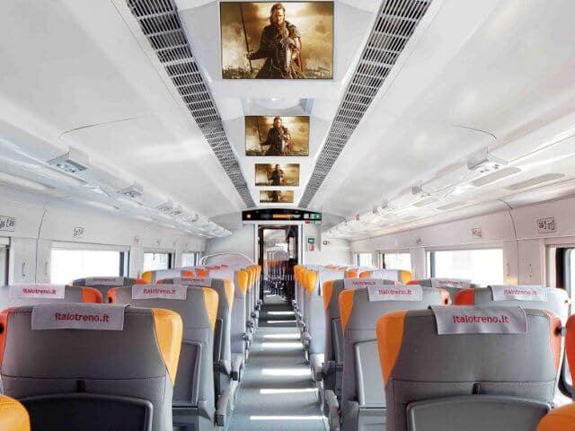 Como viajar en tren en Italia