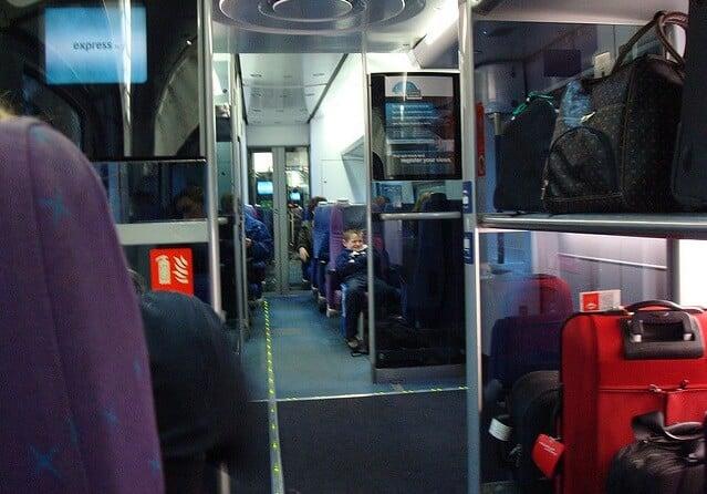 Viaje en tren por Europa - Equipaje