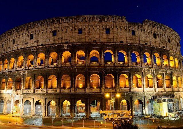 Entradas para el tour nocturno por la Roma iluminada
