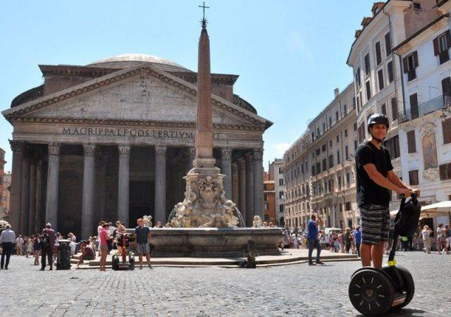 Billetes para el tour en segway por Roma