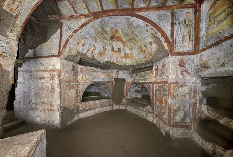 Catacumba de los Dolomitas en Roma
