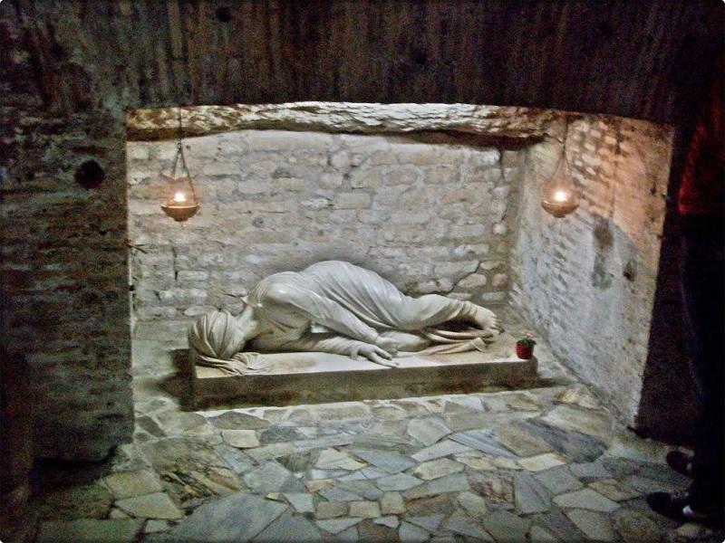 Catacumbas de San Calixto en Roma