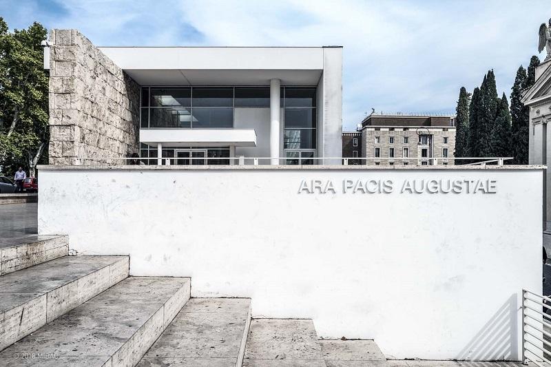 Museo del Ara Pacis en Roma