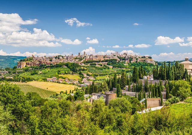 Billetes para un viaje a Orvieto y Asís desde Roma