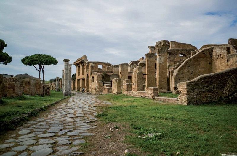 Ostia Antica en Roma