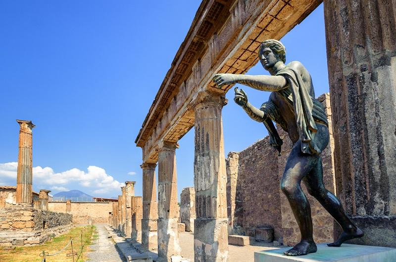 Ruinas en Pompeya