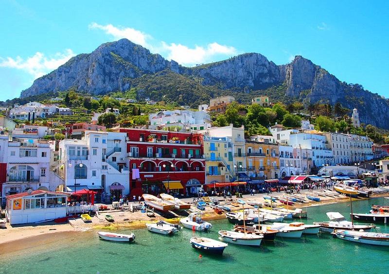 Vista de Capri